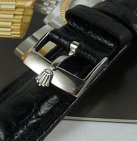 ROLEX 18mm Logo Buckle ACIERINCX ROLEXSA SWISS 20mm