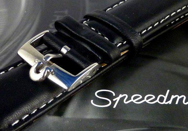 OMEGA Speedmaster 20mm white stitched Strap 18mm Buckle