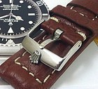 ROLEX SUBMARINER GMT Explorer Model 20mm stitched SUISSE QUALITE