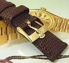 Rolex 14mm Logo Buckle 18k Gold Plate ACIERNOX ROLEXSA 17mm Strap