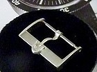 OMEGA 20mm Giant Vintage Silver Logo Buckle ACIER INOX SWISS 1958 Rare