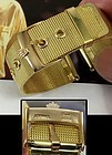 Rolex 18mm Logo Buckle 18k Gold Plate 20mm Mesh Metal PRESIDENT MODEL