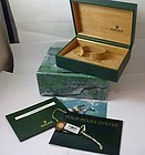 ROLEX LADIES STAINLESS DATEJUST Unused Box & Documents 1980s