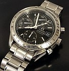 OMEGA Speedmaster Chronograph Automatic Date BLACK Dial