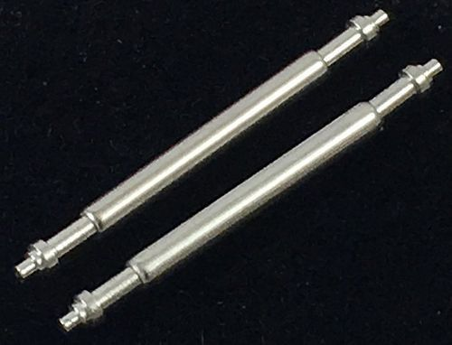 ROLEX DATEJUST New Model Stainless 20mm SPRING BARS Set of two (2)