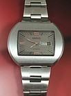 GUCCI Stainless Steel AUTOMATIC DAY DATE 45mm Circa: 1976