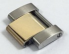 ROLEX 18k Yellow Gold/SS Two-Tone Oyster LINK Genuine Original 16mm
