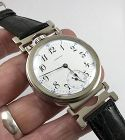 HAMILTON 21j Grade 992 RAILROAD APPROVED wrist conversion 48mm dia