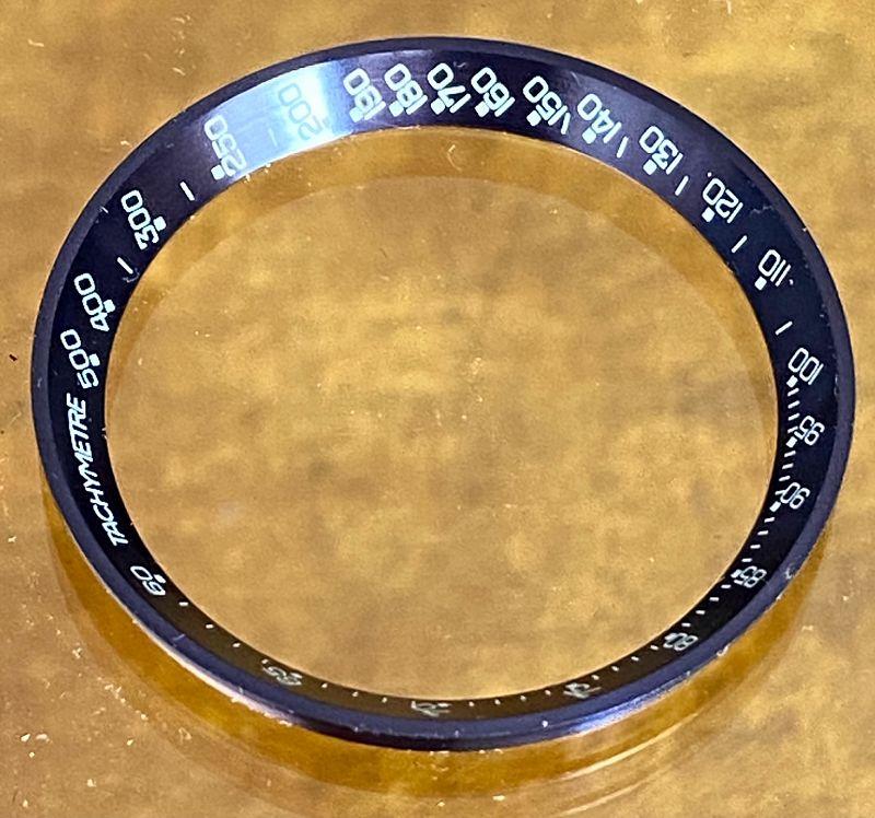 OMEGA SPEEDMASTER BLUE Bezel Insert MARK III Ref.176.009 Genuine