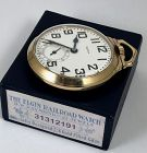 ELGIN 21j B.W. RAYMOND Porcelain Dial STREAMLINER R.R. Case w/BOX