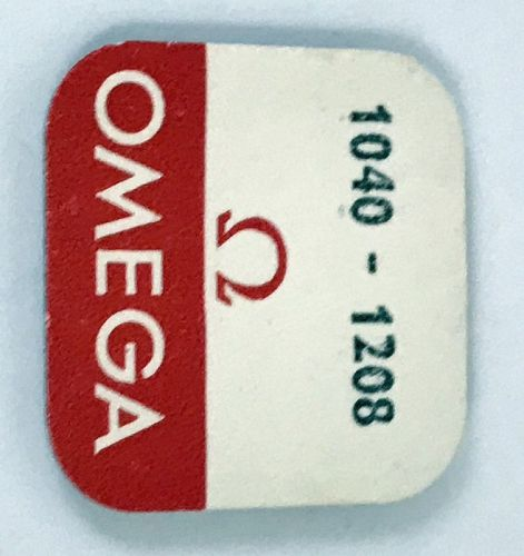 OMEGA Caliber 1040 or 1045 MAIN SPRING Part No. 1208 Circa: 1974
