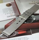 OMEGA 20mm Silver Logo Buckle 20mm MESH METAL STRAP