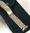 ROLEX GMT 1675 20mm SS Jubilee Deployment Bracelet Reg. 555/B 1979