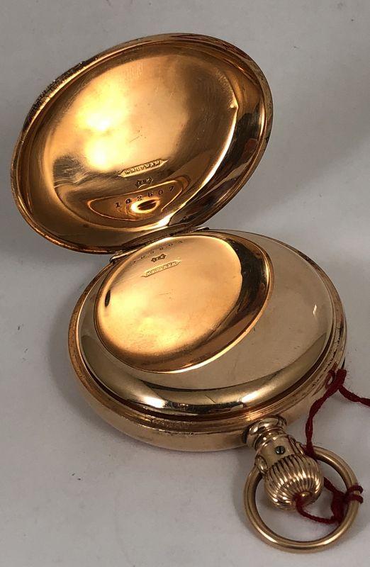 AMERICAN W.Co. WILD WEST 1872 MODEL 14k ROSE GOLD C: 1883