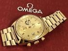 OMEGA Seamaster Automatic Chronograph Gold Plated Cal 1040 Feb 26 1973