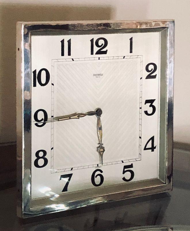 Jaeger-LeCoultre 8-DAY Rectangular Mantel Clock 7.25 x 7,25 inch C1930