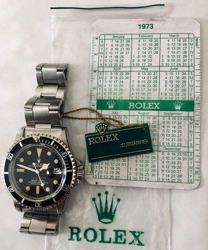 ROLEX SUBMARINER Ref.1680 1972 Original 280/9315 Bracelet Rare