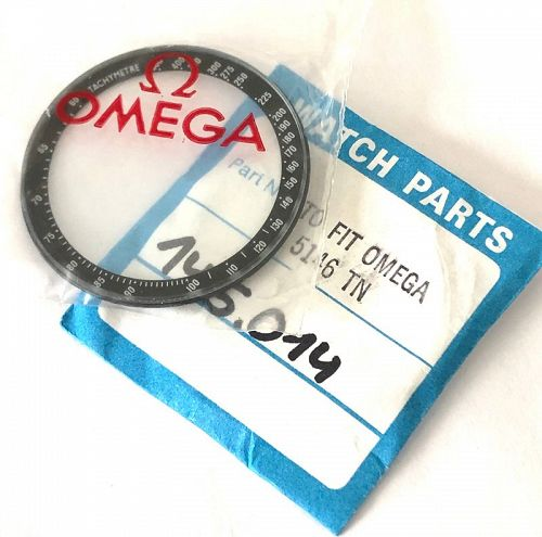 OMEGA 41mm Bezel Glass Caliber 861 MARK II insert Ref 145.014 Packaged