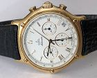 EBEL 18k GOLD Automatic DATE CHRONOGRAPH 8134901 Box/Docs 39mm