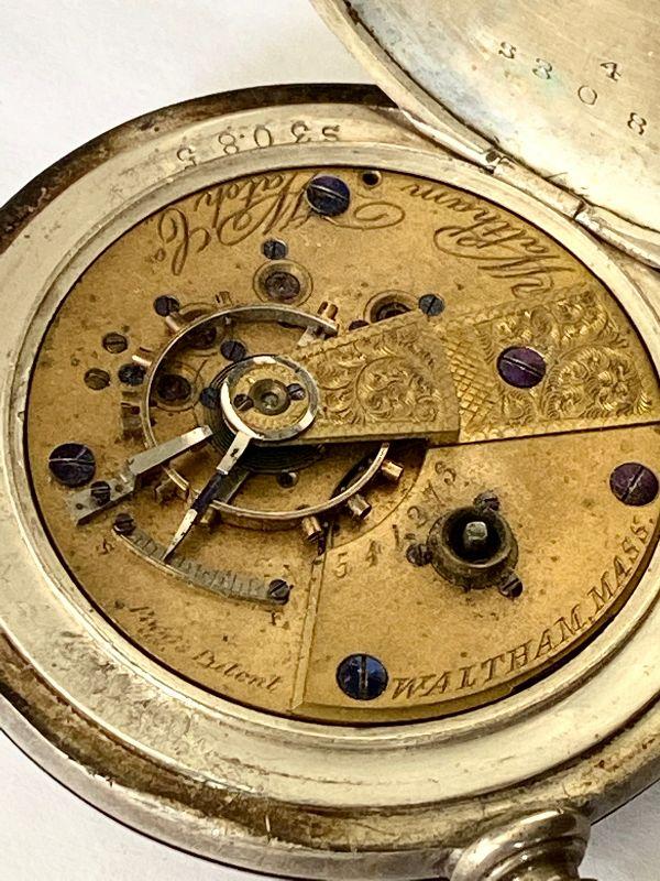 AMERICAN W. Co. 4oz. Case #541,273; 15j Circa: 1870  AS IS