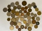COIN COLLECTION Lot of 50 Orient So. America Europe