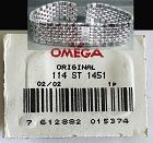 OMEGA Caliber 1451 Original Link.  114 ST 1451 Factory packaged unused