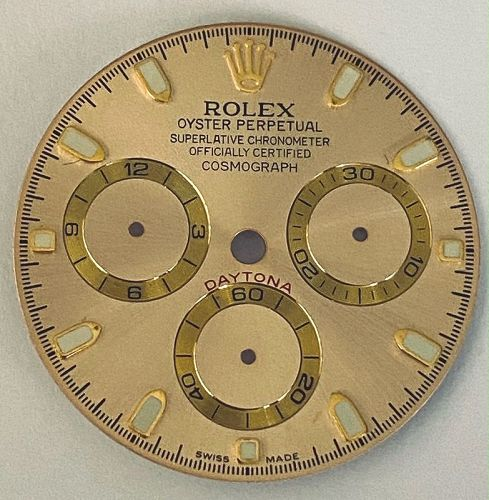 ROLEX DAYTONA Champagne COSMOGRAPH 16520 16523 16518 DIAL
