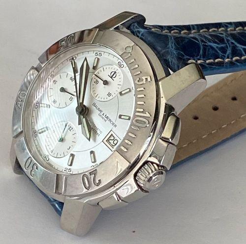 BAUME & MERCIER 65352 Chronograph Automatic Date 200m BRACELET & Strap