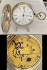 INDEPENDENT WATCH CO. Fredonia, N.J. Key Wind 3/4 Plate GATES