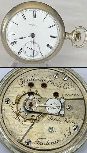 FREDONIA WATCH Co. Fredonia, N.Y. Serial No. 220.049 1883