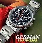 German AF Chronograph Luftwaffe Hack Set OUT OF STOCK
