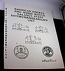 Pocket & Wrist Balance Staff Interchangeability List 1979 Out-of-Stock