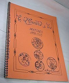 E. Howard & Co. Reference & Identification Guide Reprint Book