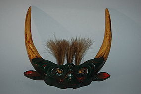 Maedate, helmet ornament, monster, Japan, 19th/20th c.