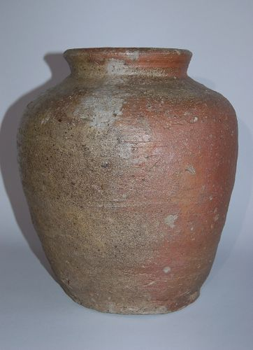 Storage jar, Iga ware, Japan, Edo period, 17th/18th century