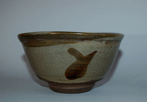 Chawan tea bowl, stoneware, Karatsu, Japan, Edo period
