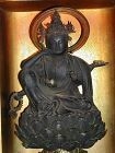 Zushi shrine, sculpture of a 6armed Bodhisattva Kannon, Japan