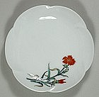 Porcelain dish, Kakiemon style, Japan, 20th century