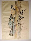 Painting, standing daoist immortal, Japan, 19th century
