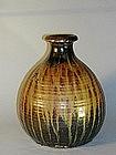 Ship�s sake bottle, stoneware, Japan, Edo period