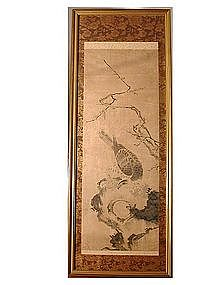 Painting of hawk, Kano school, Japan, 18th century