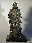 Sculpture of Myoken bosatsu, Japan, Edo period