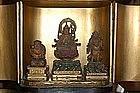 Zushi: Benten, Daikoku and Bishamonten, Japan, 18th c