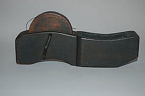 Sumi-tsubo, inkline reel, wood, Japan, Meiji era