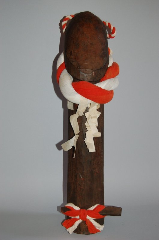 Wooden phallus, Japan, 20th century