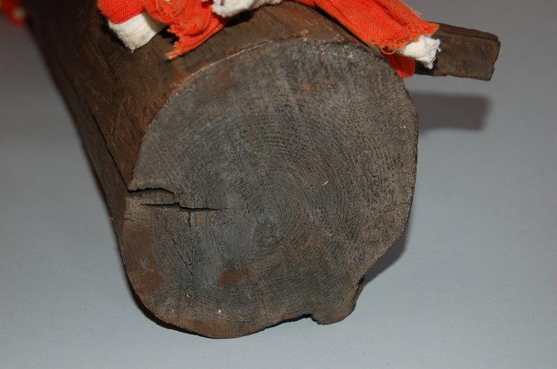 Wooden phallus, Japan, 20th century