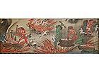 Hand scroll set, rokudo, Buddhist six realms, Japan, 19th c.