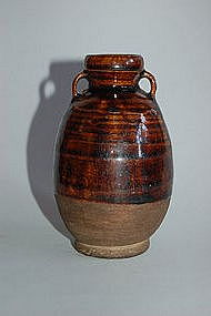 Small bottle vase, prob. China, Yuan period