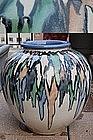 Storage jar, stoneware, Shigaraki, Japan, 20th c.