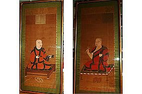 Paintings of Buddhist abbots, Japan, Muromachi era
